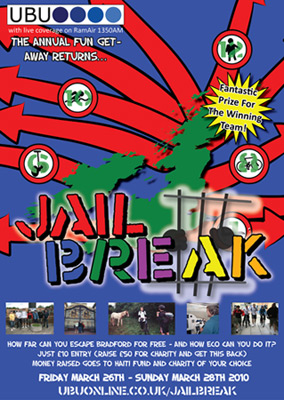 UBUonline's Jailbreak 2010 poster