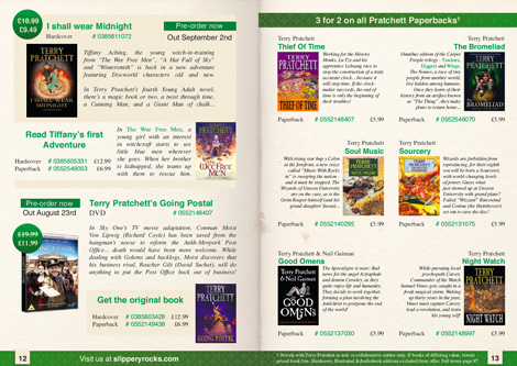 Book Catalogue pages