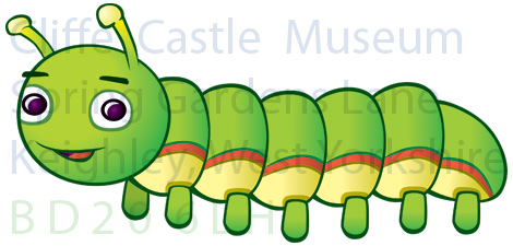 Cliffe The Caterpillar, life stage 2 (watermarked)
