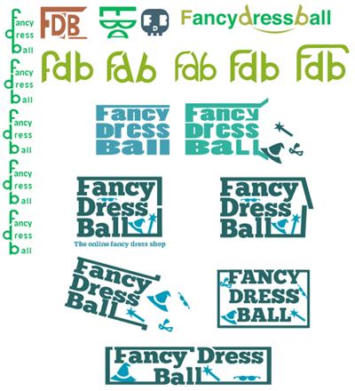 Fancy Dress Ball Logo - Concepts