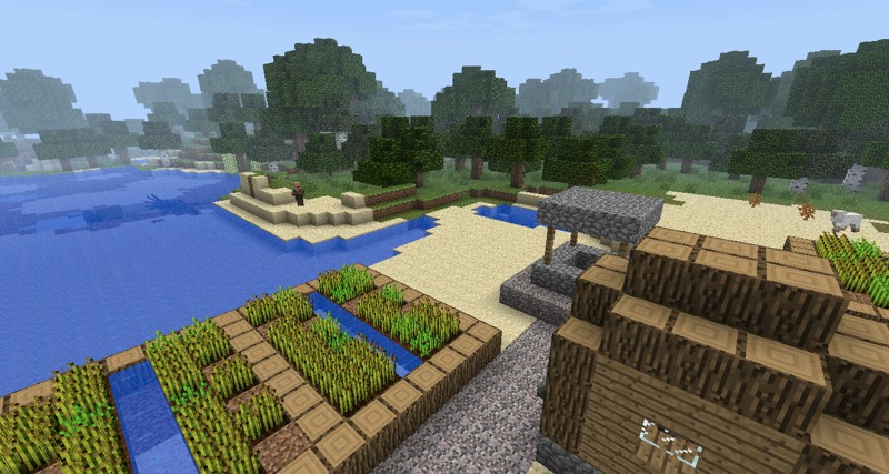 Minecraft, Default Textures
