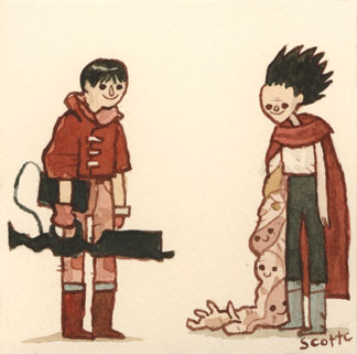 This is Akira vs Tetsuo.