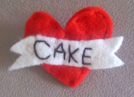 Made By Millie CAKE brooch