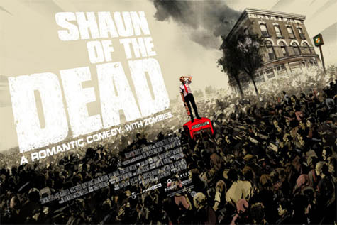Shaun Of The Dead poster by Jock