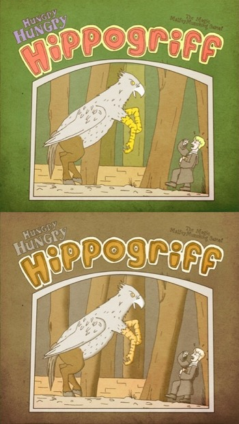 Hungry Hungry Hippogriff - 09/10 colour options