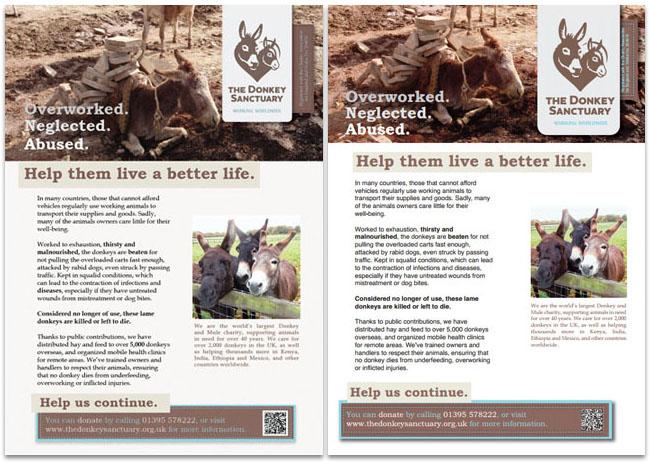 Donkey Sanctuary posters