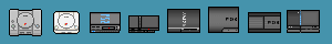 Sony console icons