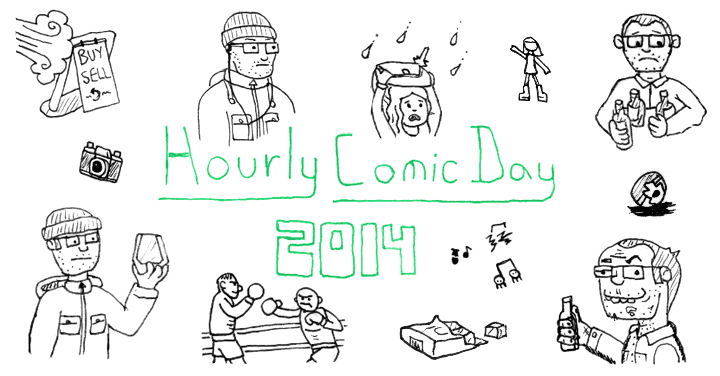 Hourly Comic Day 2014 Title Image